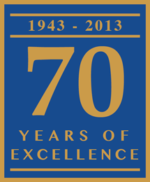 1943-2013: 70 Years of Excellence