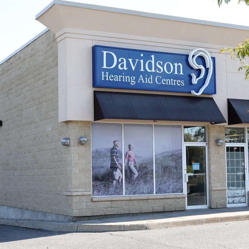 Davidson Hearing Aid Centres storefront photograph of our Renfrew clinic