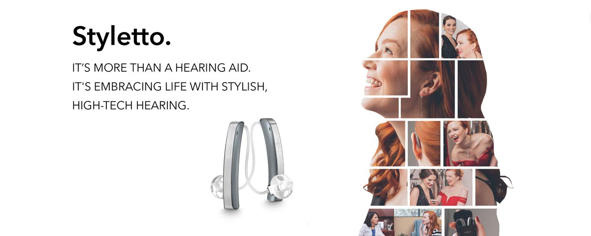 Forget the stigma of hearing aids, Styletto is so far removed from what anyone thinks of as a hearing aid.