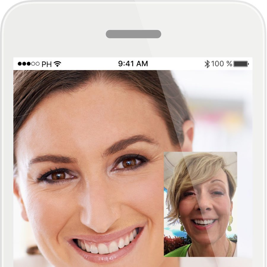 myPhonak app screen shot for the Audeo Marvel hearing aids