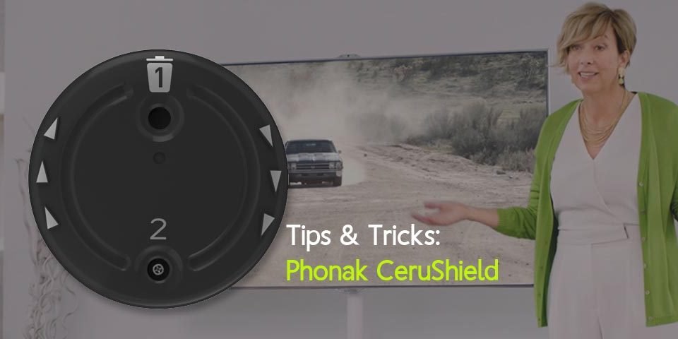 How to get the most out of your Phonak Audeo Marvel hearing aid by changing the CeruShield wax filter