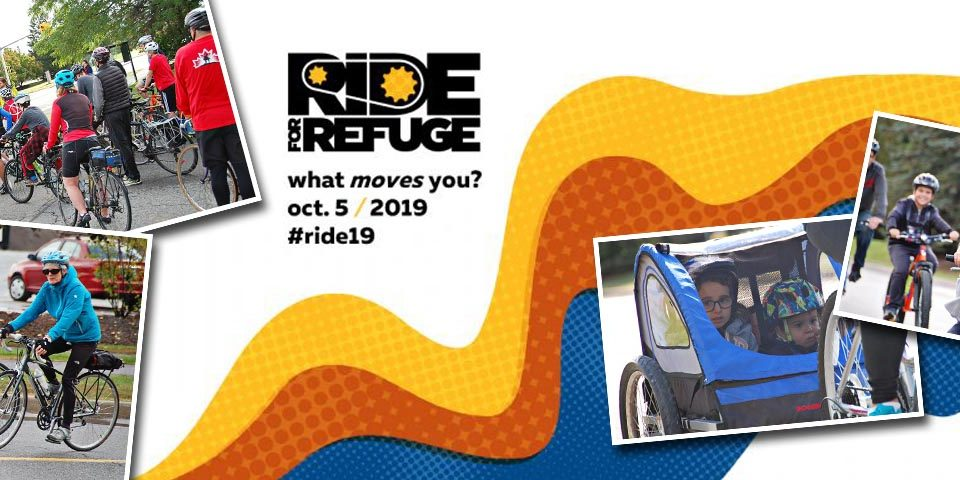 Davidson Hearing Aid Centres is sponsoring the 2019 Ottawa Ride For Refuge fundraiser event.