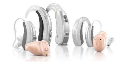 selecting a style and performance level of hearing aid