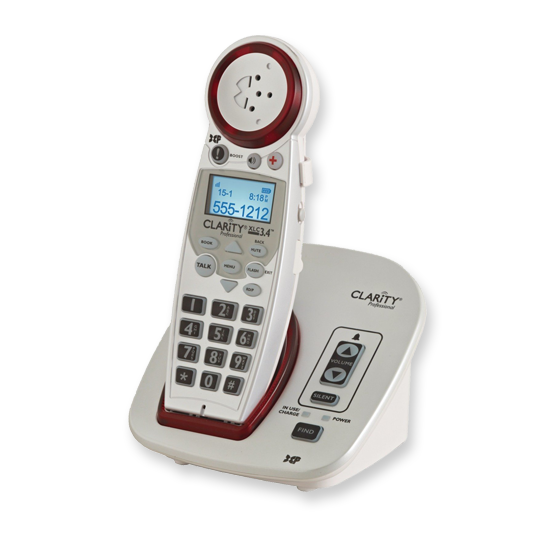 Clarity XLC3.4 amplified telephone for hearing impaired and hearing aid users